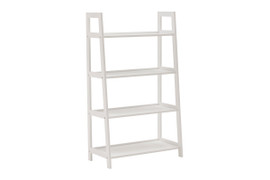 Alba Large Bookcase-White