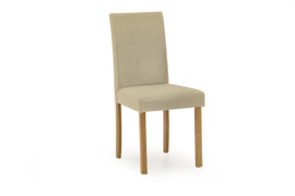 Anna Dining Chair-Cream PU