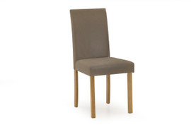 Anna Dining Chair-Cappucino PU
