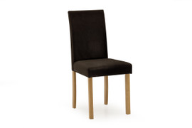 Anna Dining Chair-Brown PU