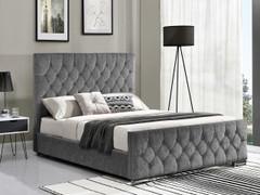 Carina 4'6'' Bed-Silver