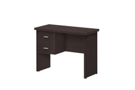 Oscar Desk- 2 Drawer (100cm)-Wenge