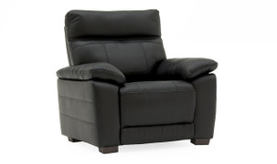 Positano 1 Seater Fixed-Black