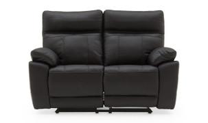 Positano 2 Seater Recliner-Black