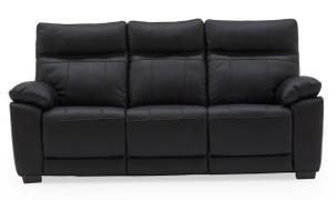 Positano 3 Seater Fixed-Black