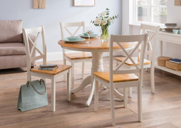 Calais Round Dining Table - 106cm