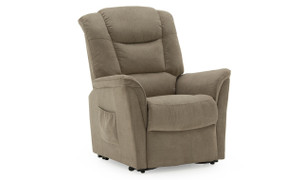 Ambler  Electric Recliner-Beige