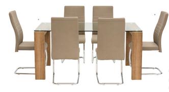 Casa Dining Table -Oak (130 cm)