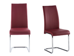 Monaco Dining Chair-Purple