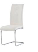 Monaco Dining Chair-White