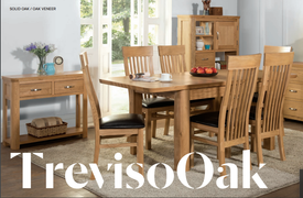 Treviso 4' Extension Dining Table