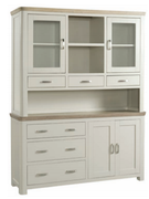 Treviso Painted Large Buffet Hutch