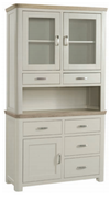 Treviso Painted Small Buffet Hutch