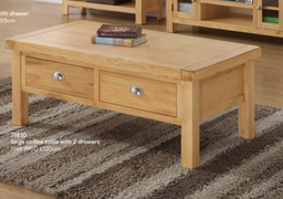 Newbridge Large Coffee Table with 2 Drawers