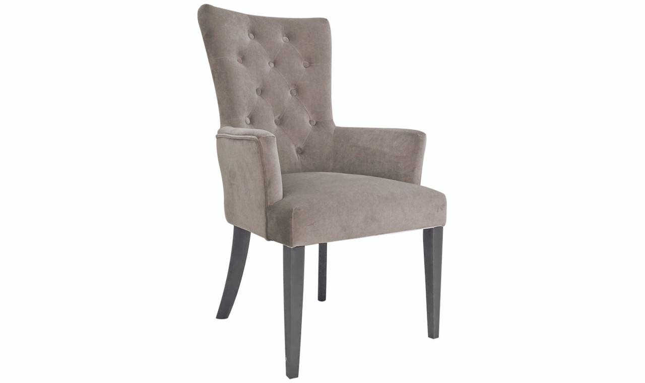 Picture of: Pembroke Arm Chair Taupe Ideal Furniture