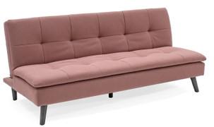 Hannah Sofa Bed-Coral Pink