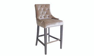 Belvedere Bar Chair-Champagne