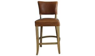 Duke Bar Chair-Tan Brown