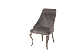 Cassia Dining Chair-Grey