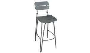 Delta Bar Chair-Grey