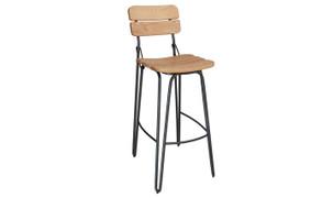 Delta Bar Chair-Natural Elm