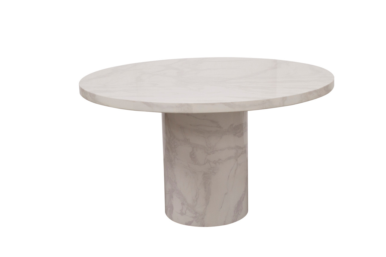 Carra Round Coffee Table 80 Cm Ideal Furniture