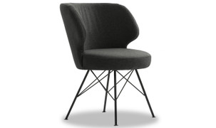 Erwan Accent Chair-Charcoal