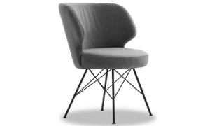 Erwan Accent Chair-Light Grey