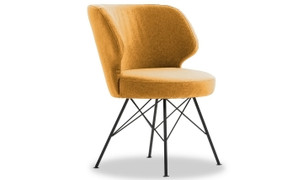 Erwan Accent Chair-Mustard