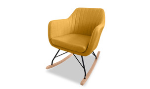 Katell Rocking Chair-Mustard