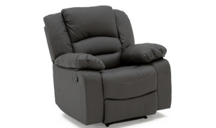 Barletto 1 Seater Recliner - Grey
