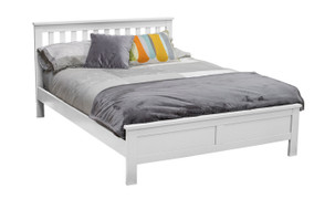 Willow 4'6'' Bed-White