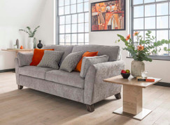 Cantrell 3 Seater-Silver