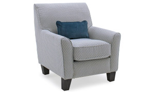 Cantrell Accent Chair-Teal