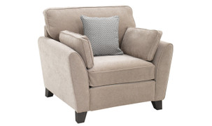 Cantrell 1 Seater-Almond