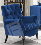 Elisa 1 Seater-Dark Blue