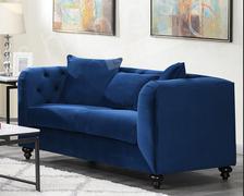 Elisa 2 Seater-Dark Blue