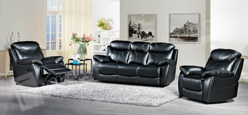 Bradshaw 3+1+1 Seater-Black
