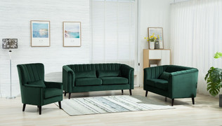 Meabh  3+1+1 Seater-Green