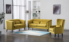 Meabh  3+2 Seater-Mustard