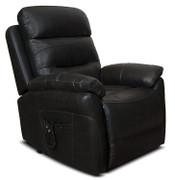 Arianna Armchair Feel Fabric-Black