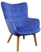 Kayla Occasional Chair-Purple