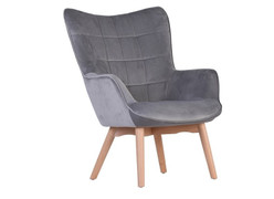 Kayla Occasional Chair-Grey