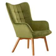 Kayla Occasional Chair-Green