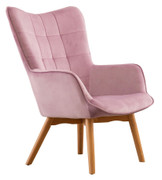 Kayla Occasional Chair-Pink