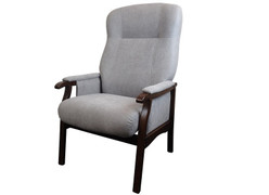 Brandon Occasional Chair-Grey