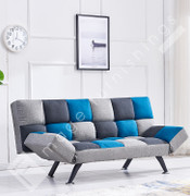 Boston Sofa Bed-Blue Check
