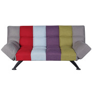 Boston Sofa Bed-Multi-colour Stripe