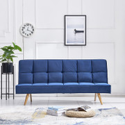Bronwyn Sofa Bed-Blue