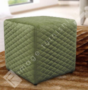 Quilted Cube-Green